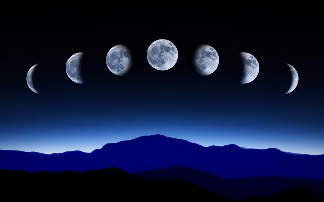 מחזורי הירח – ירח חדש וירח מלא